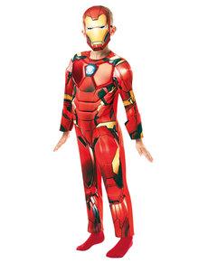 Disfraz de Iron Man deluxe para niño - Marvel