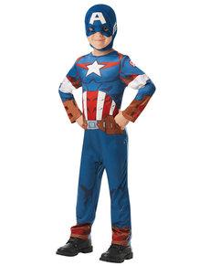 Disfraz de Capitán América para niño - Marvel