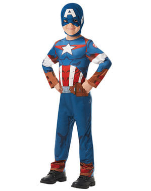 Costum Captain America pentru băiat - Marvel