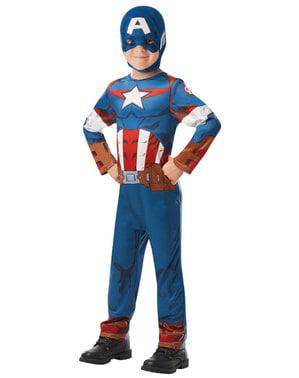 Maskeraddräkt Captain America barn - Marvel
