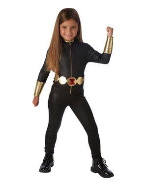 Maskeraddräkt Svarta Änkan barn - Marvel