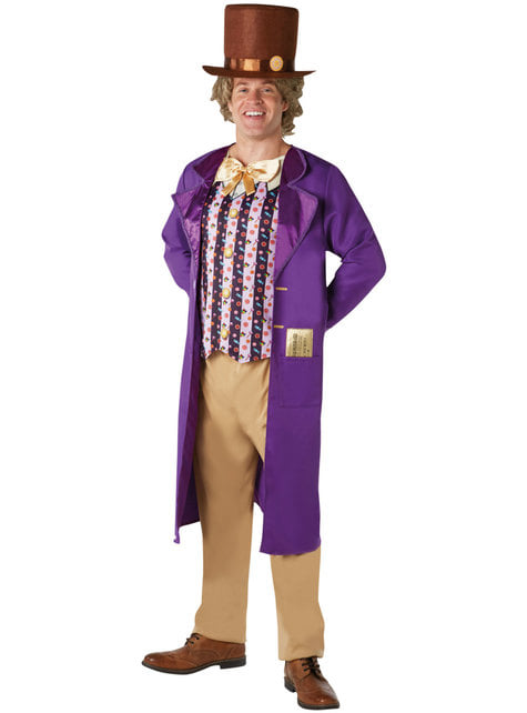 Kostium Willy Wonka męski - Charlie i fabryka czekolady
