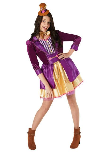 Strój Willy Wonka damski - Charlie i fabryka czekolady