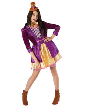 Charlie og chokolade fabrikken - Willy Wonka kostume til kvinder