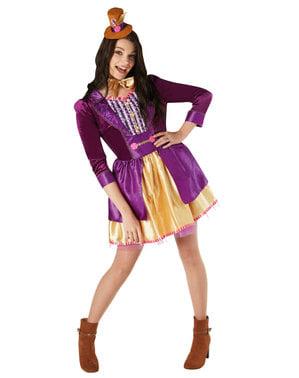 Costum Willy Wonka pentru femeie - Charlie și Fabrica de Ciocolată