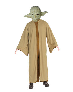 Erkekler için Yoda kostümü - Star Wars