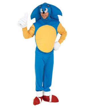 Sonic Kostüm für Herren