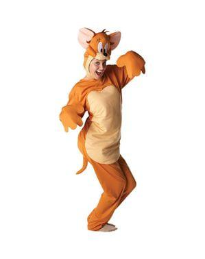 Maskeraddräkt Jerry vuxen - Tom & Jerry