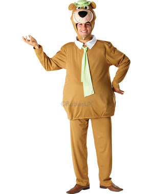 Costum Ursul Yogi pentru adult