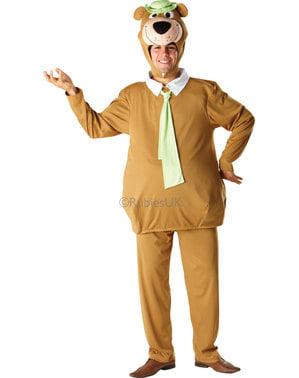 Disfraz de Oso Yogi para adulto