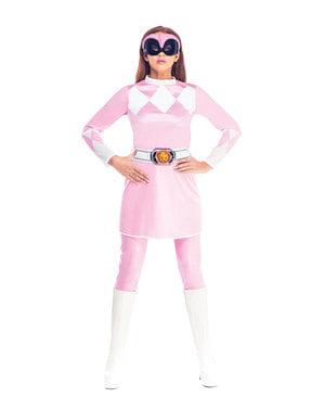 महिलाओं के लिए गुलाबी पावर रेंजर पोशाक - पावर रेंजर्स माइटी मॉर्फिन
