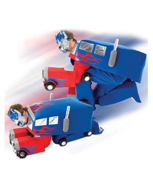 Fato de Optimus Prime para homem - Transformers