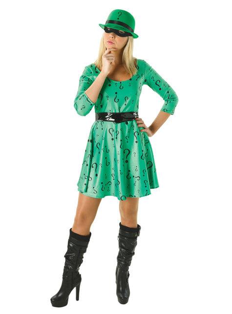 Riddler costume for women - DC Comics