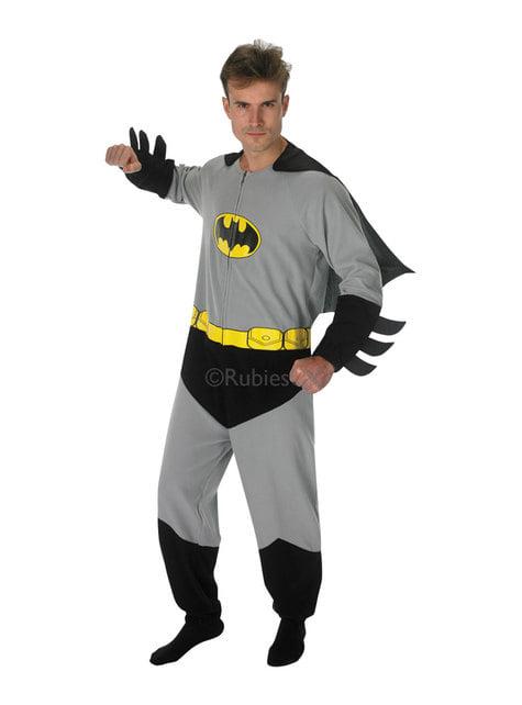 Disfraz de Batman onesie para adulto - DC Comics
