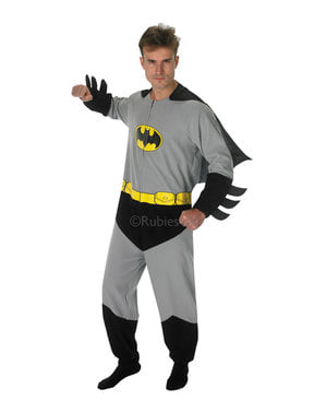 Costume di Batman onesie per adulto - DC Comics