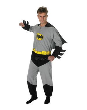 Fato de Batman onesie para adulto - DC Comics