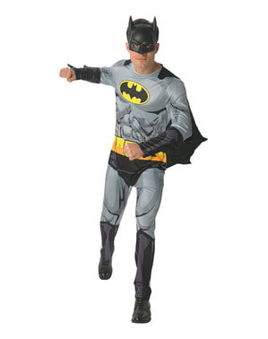 תחפושת באטמן לגברים - קומיקס DC
