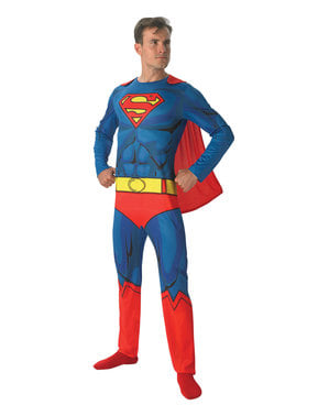 Costume di Superman per adulto - DC Comics