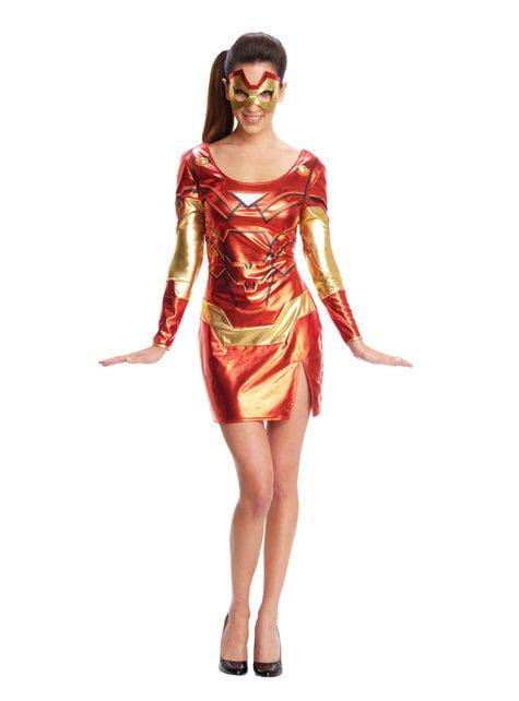 Déguisement Rescue femme - Iron Man