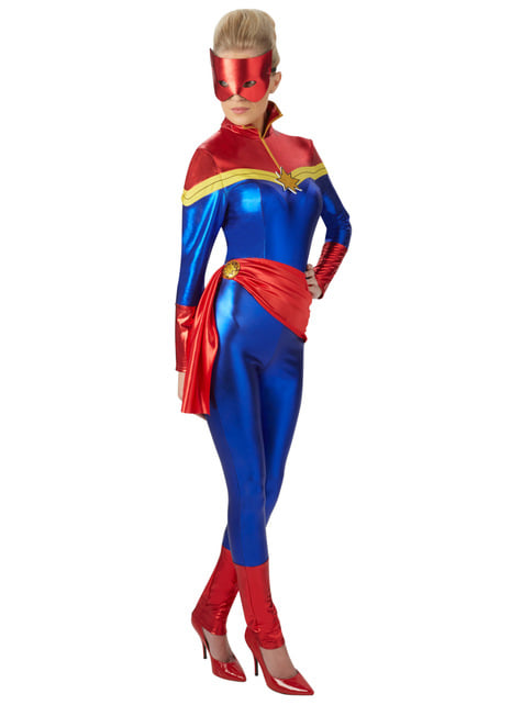 Captain Marvel costume for women - Marvel