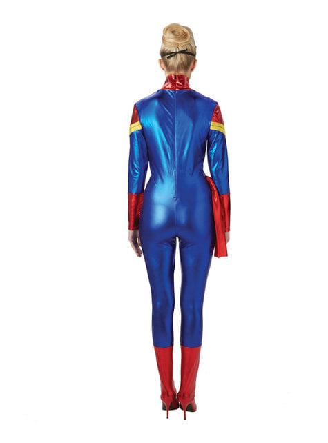 Disfraz de Capitana Marvel para mujer - mujer