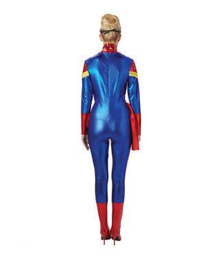 Fato de Capitão Marvel para mulher - Marvel