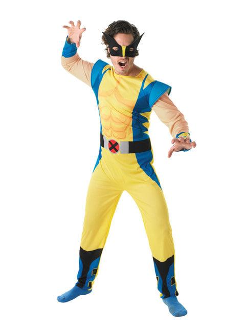 Disfraz de Lobezno para hombre - X-Men - adulto