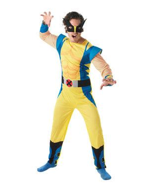 Fato de Wolverine para homem - X-Men