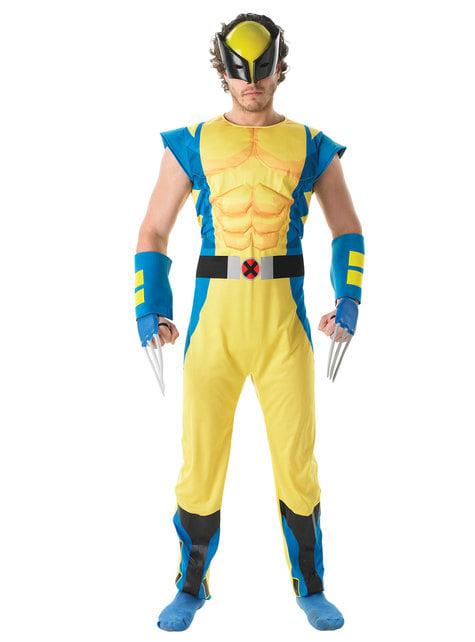Deluxe Wolverine kostyme til menn - X-Men