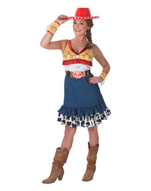 Maskeraddräkt Jessie dam - Toy Story