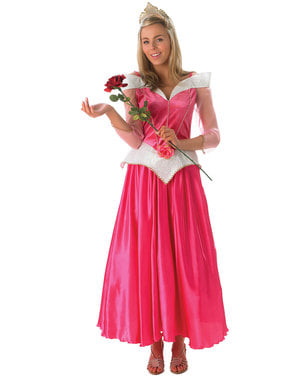 Aurora kostyme til dame - Sovende Skjønnhet