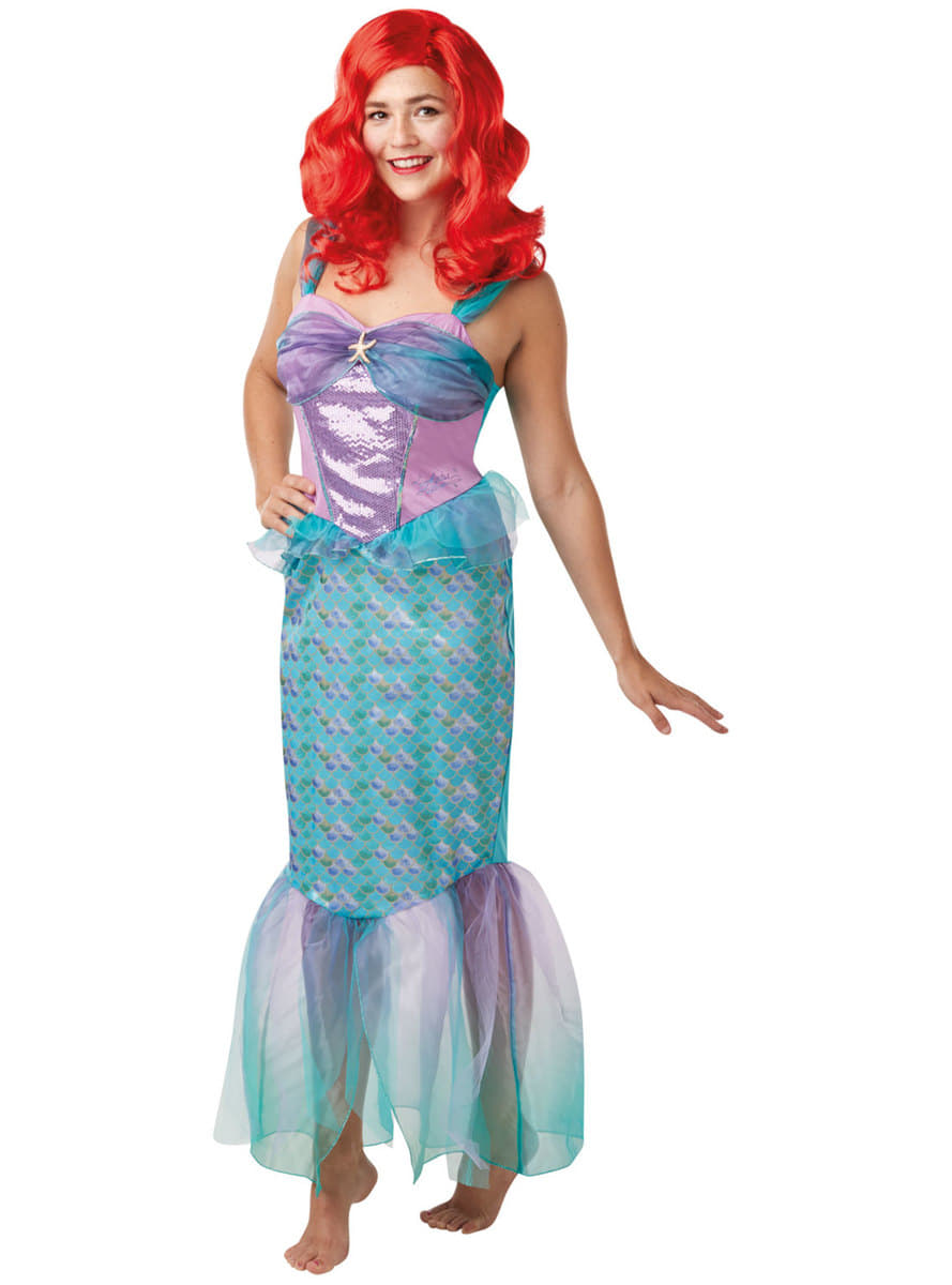 ariel costume for women - the little mermaid. fast delivery | funidelia