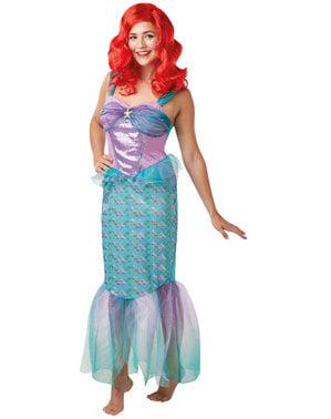 Fato de Ariel para mulher - A Pequena Sereia