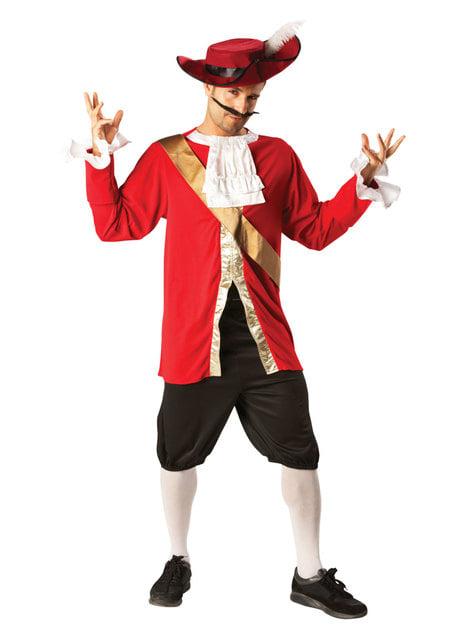 Kaptajn Klo kostume til mænd