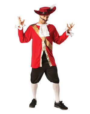 Kaptein Krok kostyme til menn