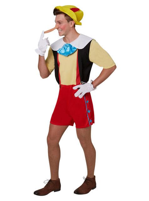 Deluxe Pinocchio costume for men