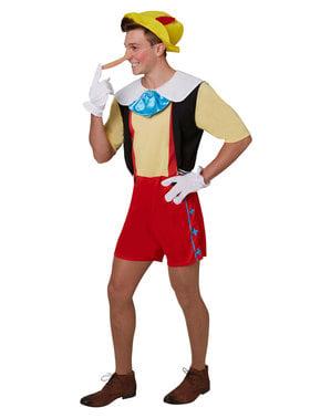 Costum Pinocchio deluxe pentru bărbat