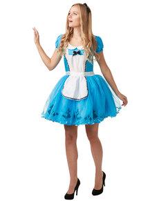 Alice kostume til kvinder - Alice i eventyrland