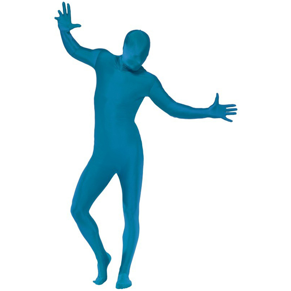 Blue Skintight Costume