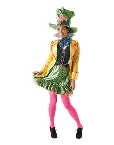 Verrückter Hutmacher Kostüm für Damen - Alice im Wunderland