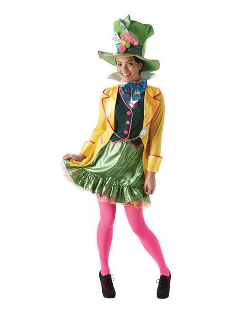 Disfraz de Sombrerero Loco para mujer - Alicia en el País de las Maravillas