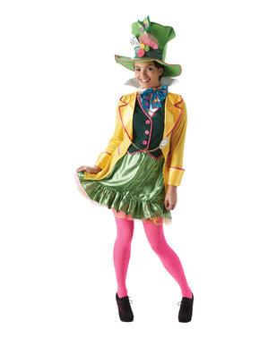 Den gale hatter kostume til kvinder - Alice i eventyrland