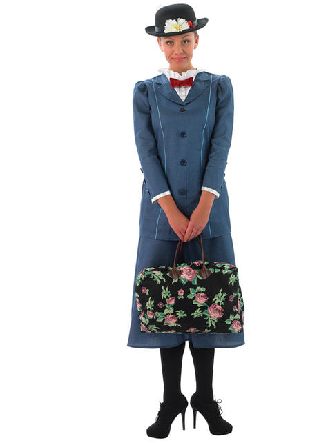 Grey Mary Poppins costume for women