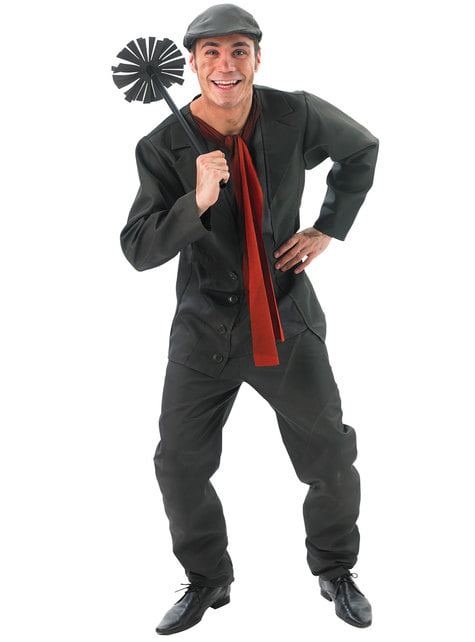 Bert the Chimney Sweep costume for men - Mary Poppins