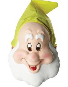 Máscara de anãozinho feliz para adulto - Branca de Neve e os 7 Anões