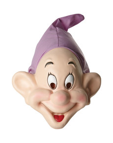 Dopey dwarf mask for adults - Snow White and the 7 dwarfs