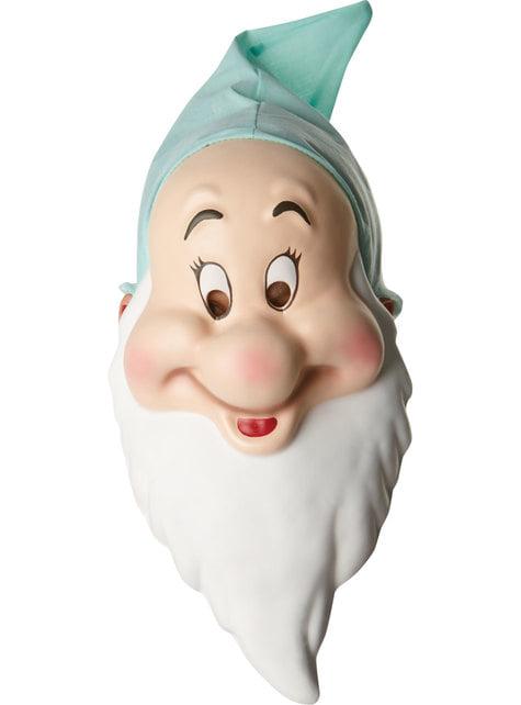 Máscara de enanito tímido para adulto - Blancanieves y los 7 Enanitos