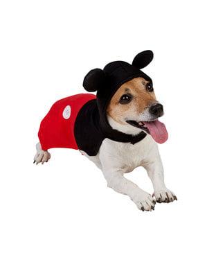 Costum Mickey Mouse pentru cățel