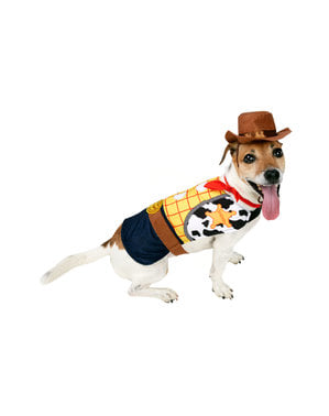 Déguisement Woody pour chien - Toy Story