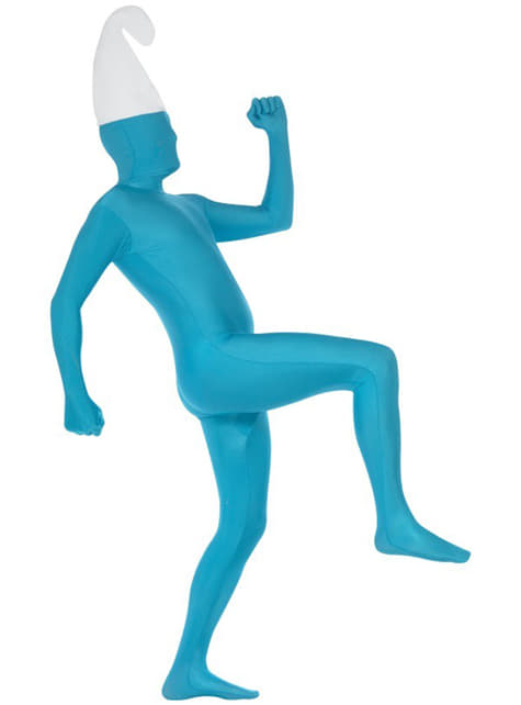 Disfraz Segunda Piel azul - traje